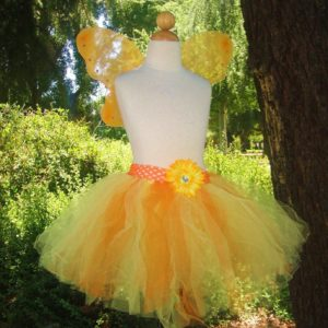 Candy Corn Fairy Costume Set