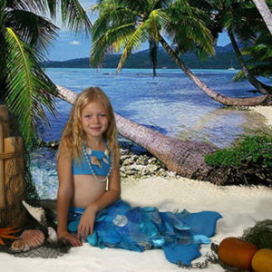 Child's Custom Luxury Mermaid Costume