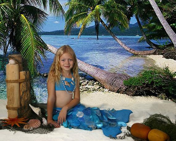 Kids Luxury Handmade Mermaid